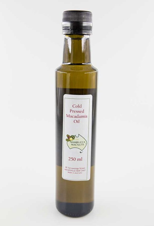 Cold Pressed Macadamia Oil