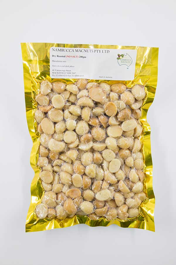 Roasted Unsalted Macadamia