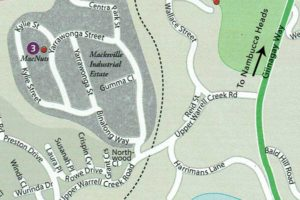 Nambucca Macnuts Location Map